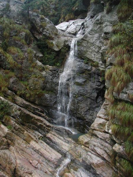 庐山石门涧风景图片-瀑布