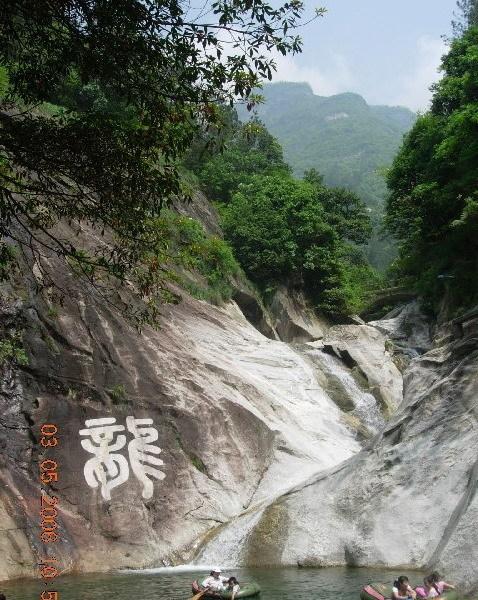 庐山秀峰风景区图片
